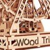 Wood Trick Ruota Panoramica Puzzle 3d Di Legno Tagliato Al Laser Set Di Costruzione Meccanica Rompicapo Per Bambini Ragazzi E Adulti Assemblaggio Senza Colla 227 Pezzi 0 4