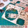 Wood Trick Scatola Di Fiori Misteriosi Puzzle 3d Di Legno Tagliato Al Laser Set Di Costruzione Meccanica Rompicapo Per Bambini Ragazzi E Adulti Assemblaggio Senza Colla 0 3