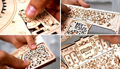 Wood Trick Teatro Delle Fate Puzzle 3d Di Legno Tagliato Al Laser Set Di Costruzione Meccanica Rompicapo Per Bambini Ragazzi E Adulti Assemblaggio Senza Colla 0 1