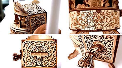 Wood Trick Teatro Delle Fate Puzzle 3d Di Legno Tagliato Al Laser Set Di Costruzione Meccanica Rompicapo Per Bambini Ragazzi E Adulti Assemblaggio Senza Colla 0 3