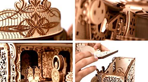 Wood Trick Teatro Delle Fate Puzzle 3d Di Legno Tagliato Al Laser Set Di Costruzione Meccanica Rompicapo Per Bambini Ragazzi E Adulti Assemblaggio Senza Colla 0 4