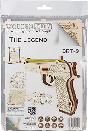 Wooden City Puzzle Multicolore X 0 3