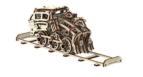 Wooden City Treon Dream Express Puzzle Meccanico 3d 0 2