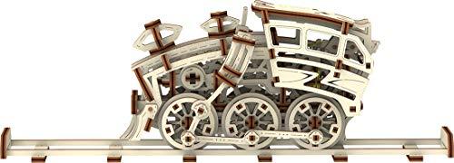 Wooden City Treon Dream Express Puzzle Meccanico 3d 0 4