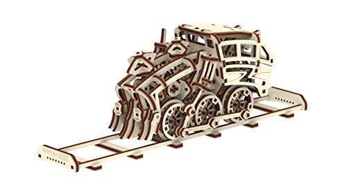 Wooden City Treon Dream Express Puzzle Meccanico 3d 0