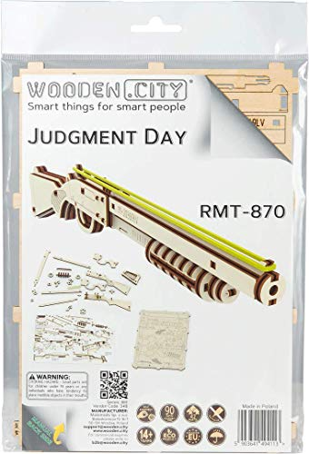 Wooden City X Puzzle Multicolore 0 3