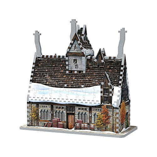 Wrebbit 3d Puzzle 3d Harry Potter Pre Au Lard Les Trois Balais 395 Pieces 0665541010125 0 2