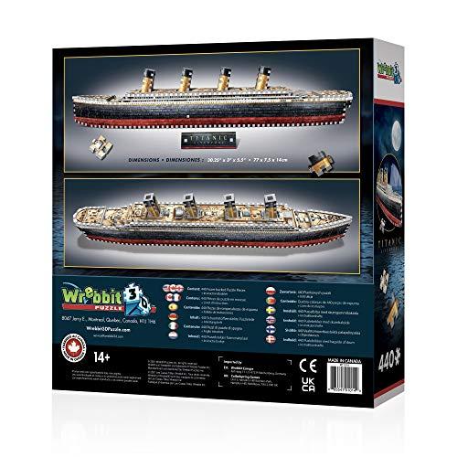 Wrebbit 3d Puzzle Gioco Da Tavolo Titanic 0 2