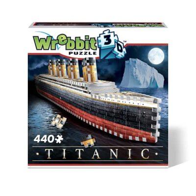 Wrebbit 3d Puzzle Gioco Da Tavolo Titanic 0
