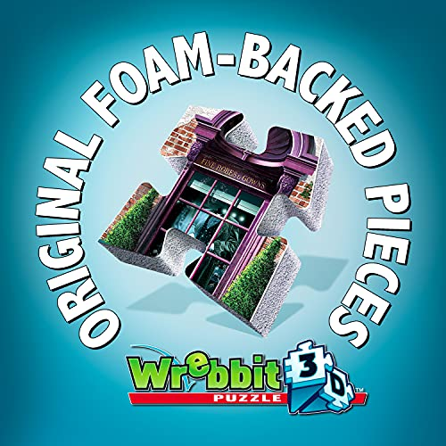 Wrebbit Puzzles Harrypotter 3d Puzzle Multicolore Standard W3d 0510 0 2