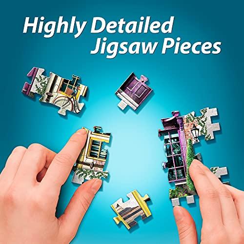 Wrebbit Puzzles Harrypotter 3d Puzzle Multicolore Standard W3d 0510 0 3