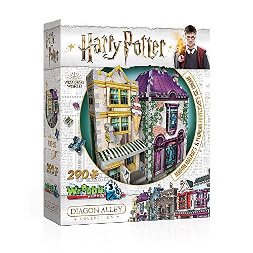 Wrebbit Puzzles Harrypotter 3d Puzzle Multicolore Standard W3d 0510 0 5
