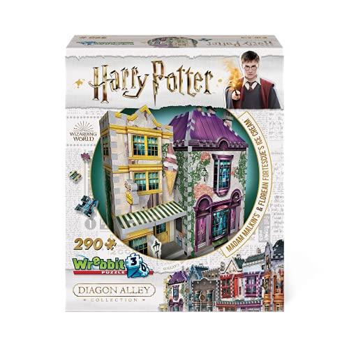Wrebbit Puzzles Harrypotter 3d Puzzle Multicolore Standard W3d 0510 0