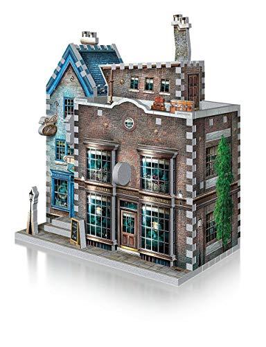 Wrebbit Puzzles Ollivanders Scribbulus Harrypotter 3d Puzzle Colore Vario Standard W3d 0508 0 1
