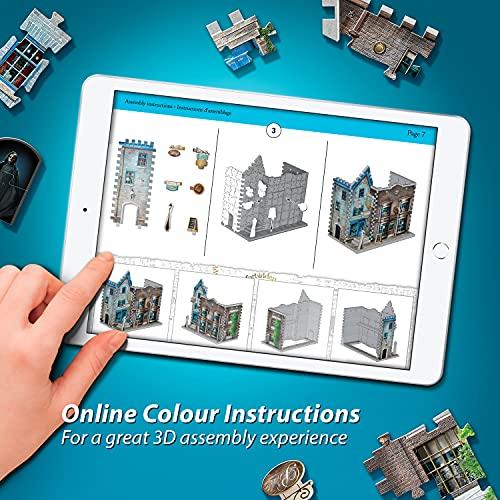 Wrebbit Puzzles Ollivanders Scribbulus Harrypotter 3d Puzzle Colore Vario Standard W3d 0508 0 4