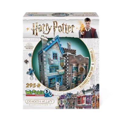 Wrebbit Puzzles Ollivanders Scribbulus Harrypotter 3d Puzzle Colore Vario Standard W3d 0508 0