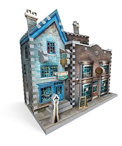 Wrebbit Puzzles Ollivanders Scribbulus Harrypotter 3d Puzzle Colore Vario Standard W3d 0508 0 5