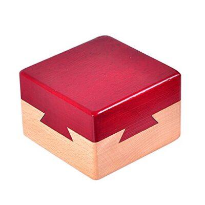 Zernnis Puzzle Di Legno Magico Rompicapo Lock Box Per I Giochi Di Intelligence 0
