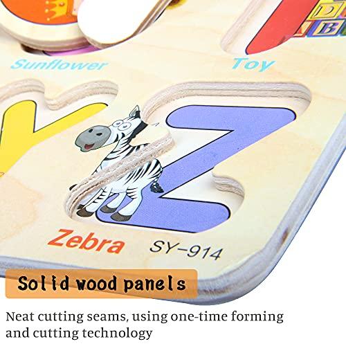 Zoneyan Puzzle In Legno Puzzle Legno Bambini 3 Tipi Di Puzzle In Legno Con Temi Diversi Puzzle Di Legno Di Alfabeto Numeri Puzzle In Legno Carriera Puzzle In Legno I Cognitivi Giochi Puzzle 0 2