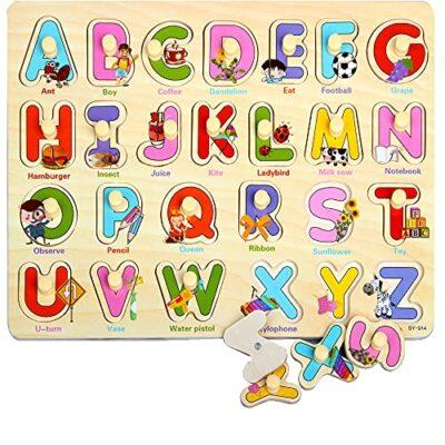 Zoneyan Puzzle In Legno Puzzle Legno Bambini 3 Tipi Di Puzzle In Legno Con Temi Diversi Puzzle Di Legno Di Alfabeto Numeri Puzzle In Legno Carriera Puzzle In Legno I Cognitivi Giochi Puzzle 0