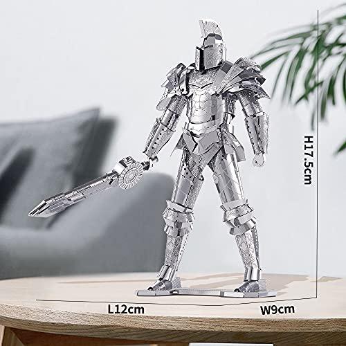 Piececool Puzzle 3d Fai Da Te In Metallo Modello Di Guerra Armata Per Adulti Colore Nero 125 Pezzi 0 1