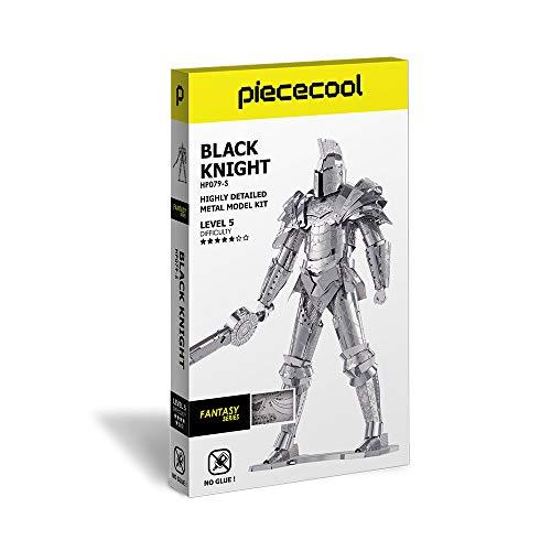 Piececool Puzzle 3d Fai Da Te In Metallo Modello Di Guerra Armata Per Adulti Colore Nero 125 Pezzi 0 5