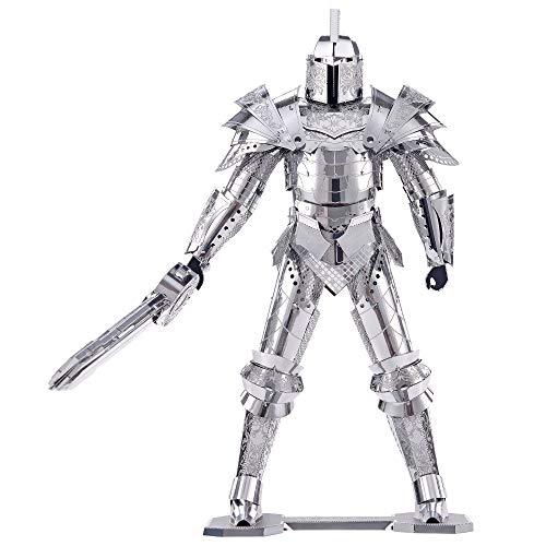 Piececool Puzzle 3d Fai Da Te In Metallo Modello Di Guerra Armata Per Adulti Colore Nero 125 Pezzi 0