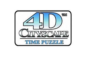 Puzzle 3d 4d Cityscape Time Puzzle