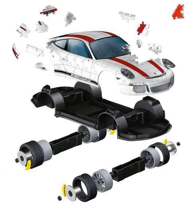 Puzzle 3d Adulti Porsche Manuale