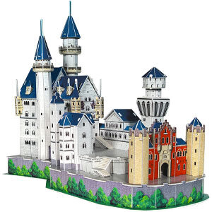 Puzzle 3d Castello