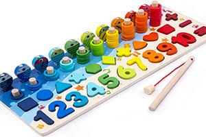 Puzzle 3d Giochi Educativi Lettere Numeri Montessori