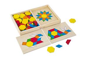 Puzzle 3d Tangram In Legno
