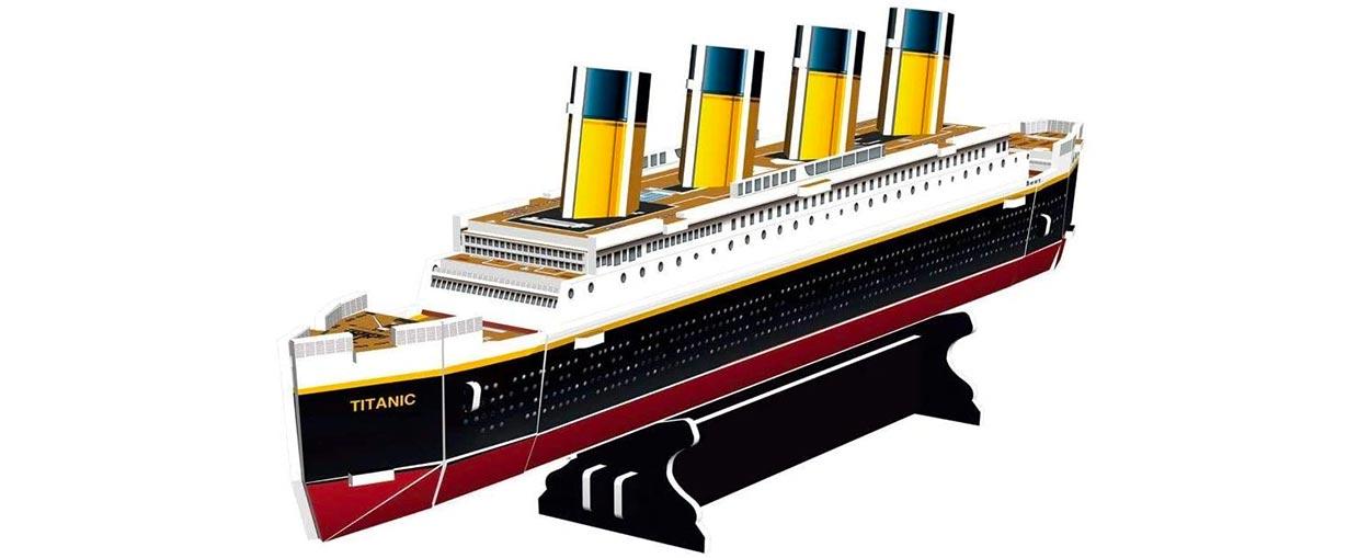 Puzzle In 3d Titanic Revell 30 Pezzi