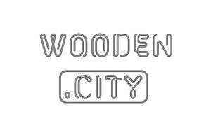 Puzzle Meccanici In Legno Wooden City