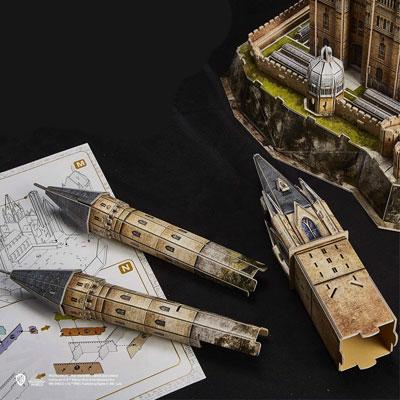 Puzzle Per Adulti 3d Cubicfun Castello Harry Potter