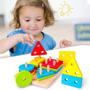Puzzle Per Bambini Giochi Educativi Montessori
