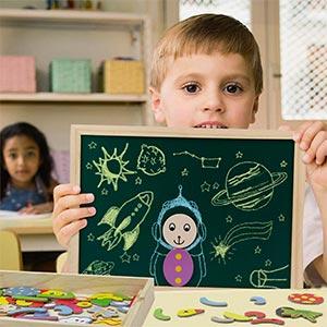 Puzzle Per Bambini Lavagna Magnetica