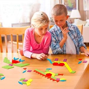 Puzzle Per Bambini Tangram Tetris